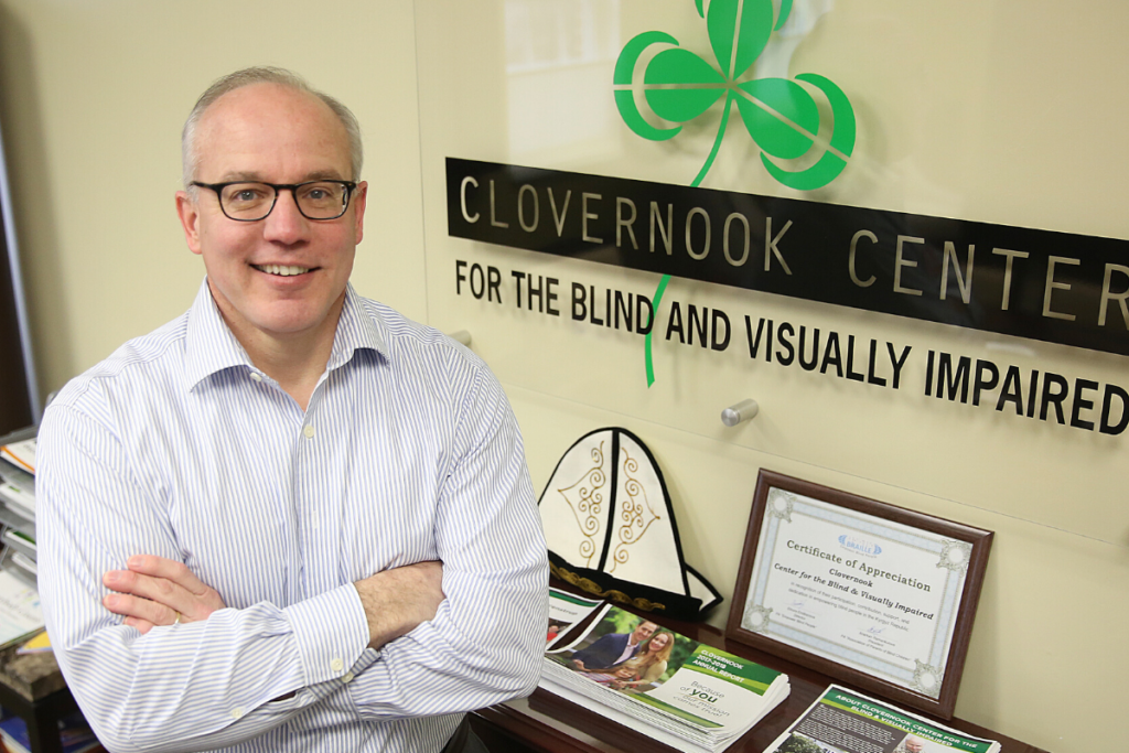 Photo of Clovernook President, Chris Faust