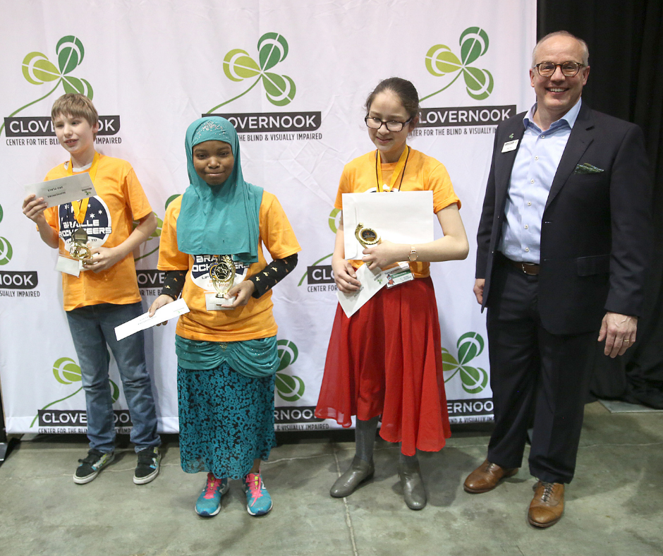 Image from the 2020 Ohio Regional Braille Challenge