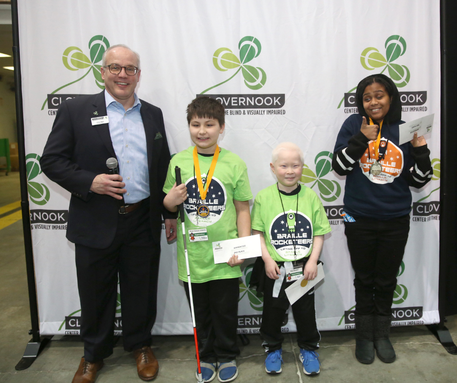 Winners from the 2020 Ohio Regional Braille Challenge